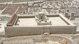エルサレム神殿の影